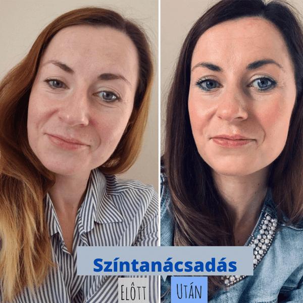 Színtanácsadás előtt és után