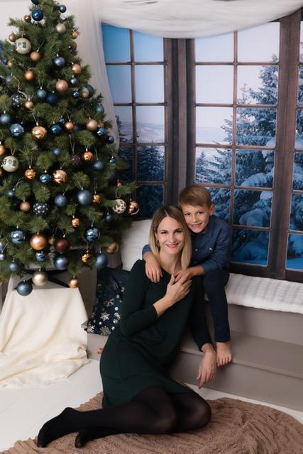 Éda és Vince - karácsonyi fotózás